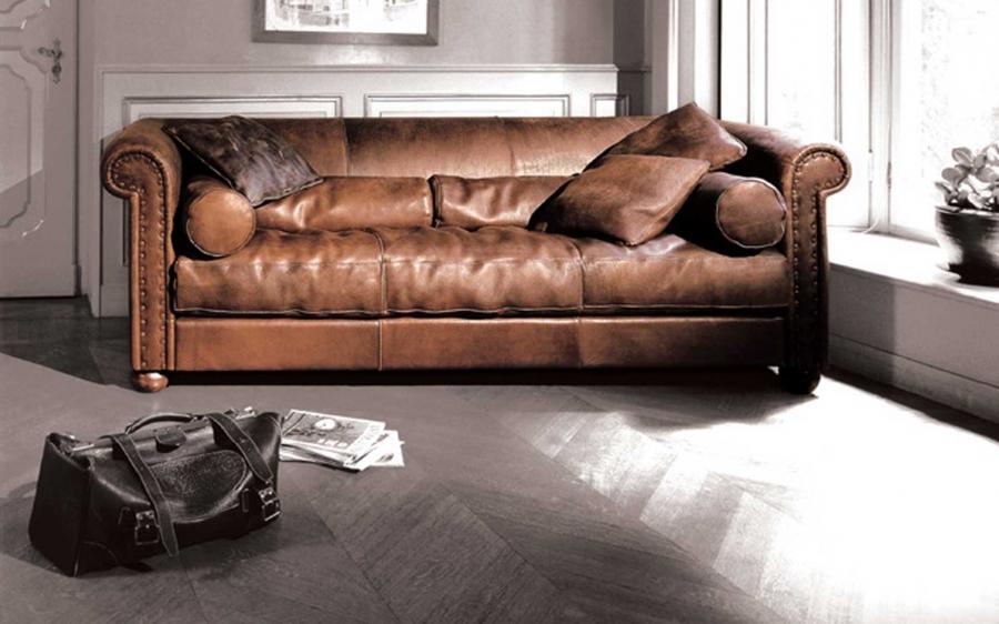 Baxter Alfred sofa and cushions
