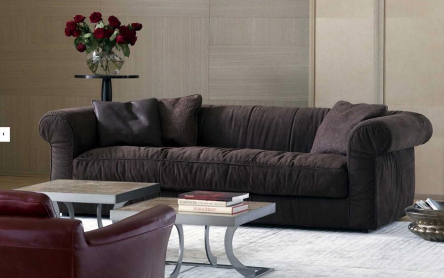 Baxter Alfred Baxter soft sofa and cushions