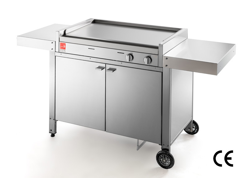 Airone Barbecue with close cart