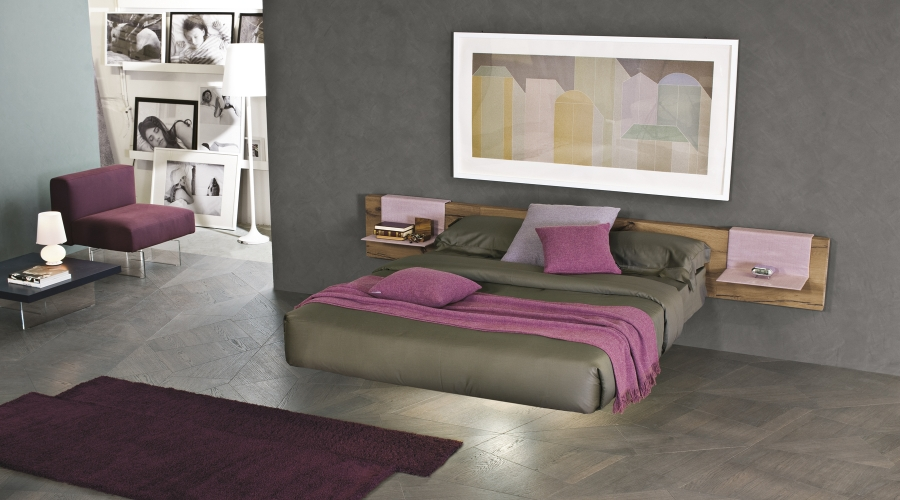Lago Fluttua bed and accesories
