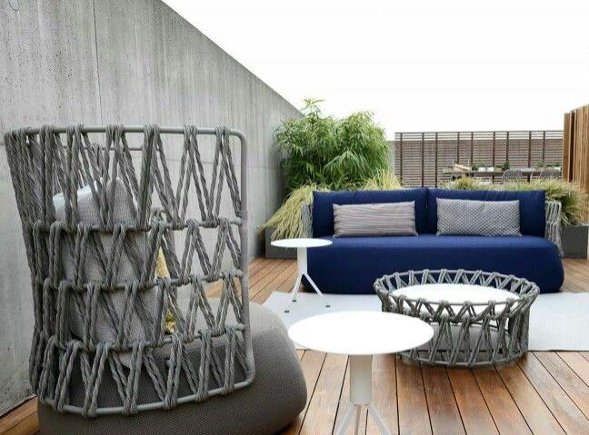 B&B Outdoor Fat-Sofa armchair