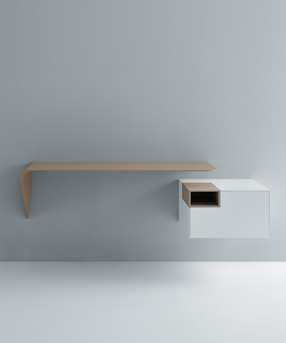 MDF Italia Mamba Light shelf / wall-mounted desk