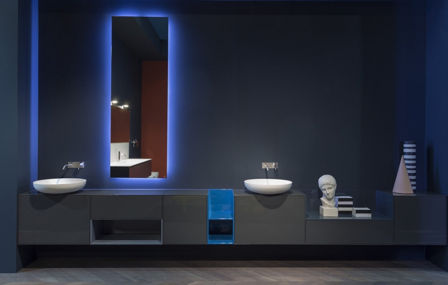 Antonio Lupi Traccia bathroom