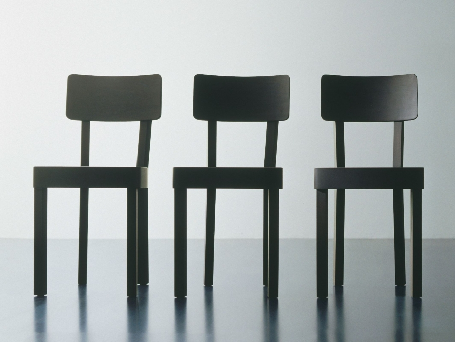 Gervasoni Black 123 Chair