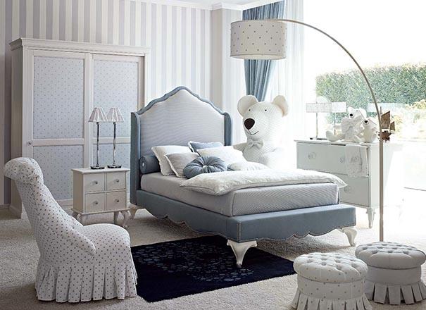 Dolfi Blanche Bed