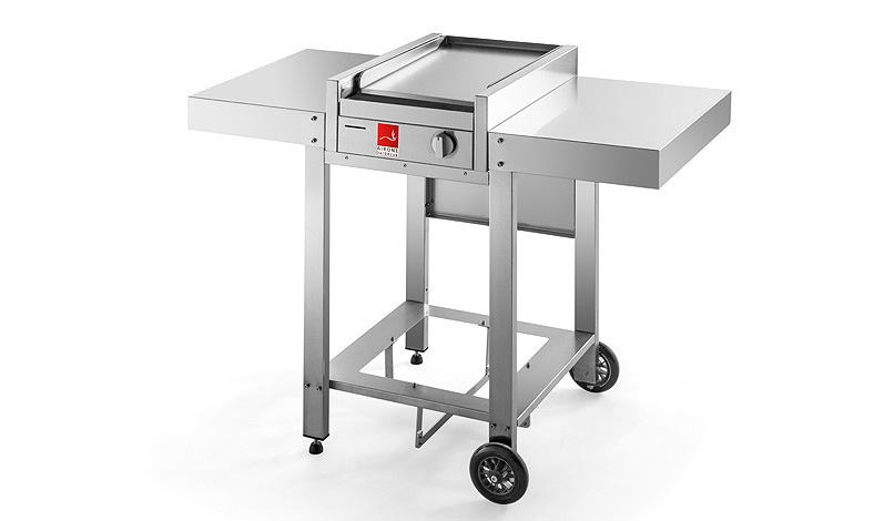 Airone Barbecue with open cart
