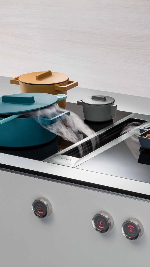 Bora Cooktop and extractor  Professional 2.0