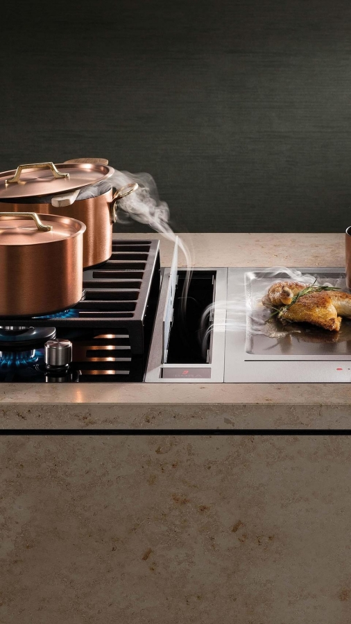 Bora Classic Cooktop and cooktop extractor