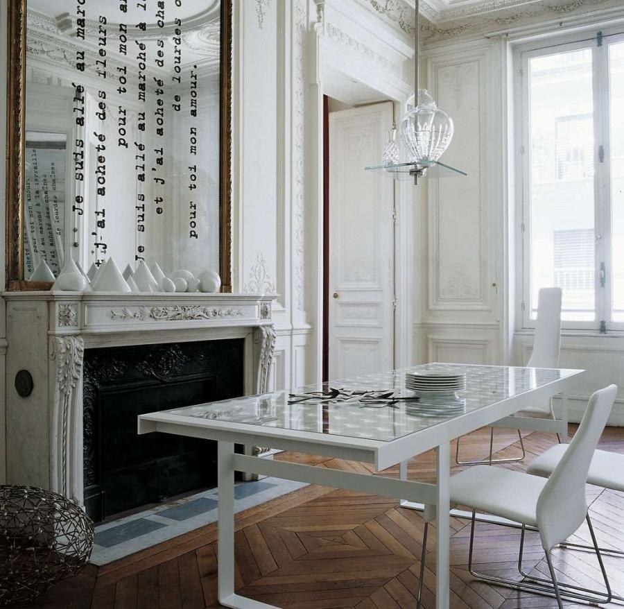 B&B Italia Lens Table