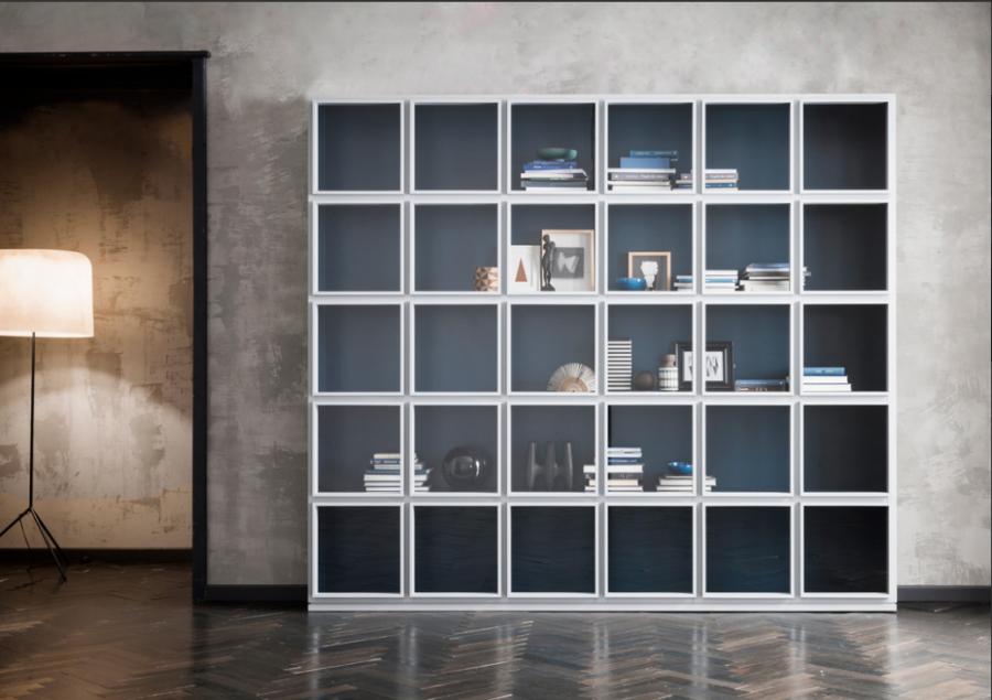 Capod'opera Concept bookcase / matt lacquer