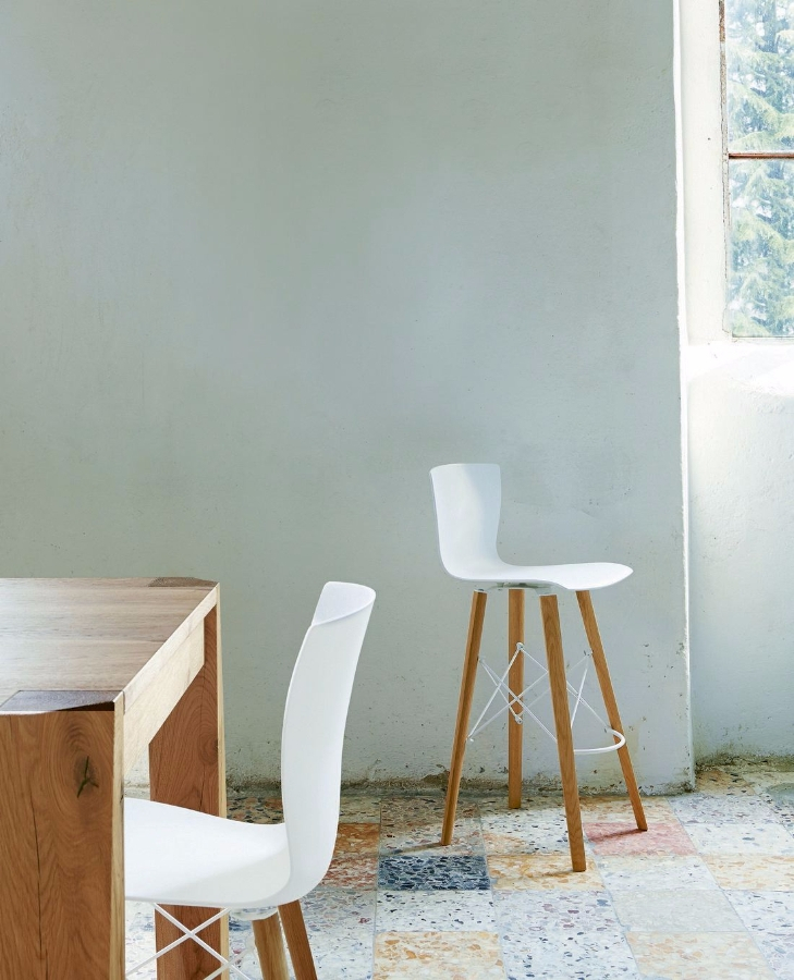 Colico Rap Wood stool