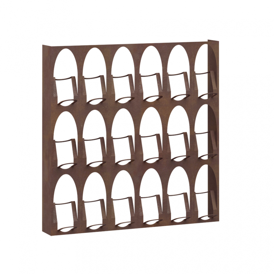 Elite To Be Wine Bookcase (Vertical)