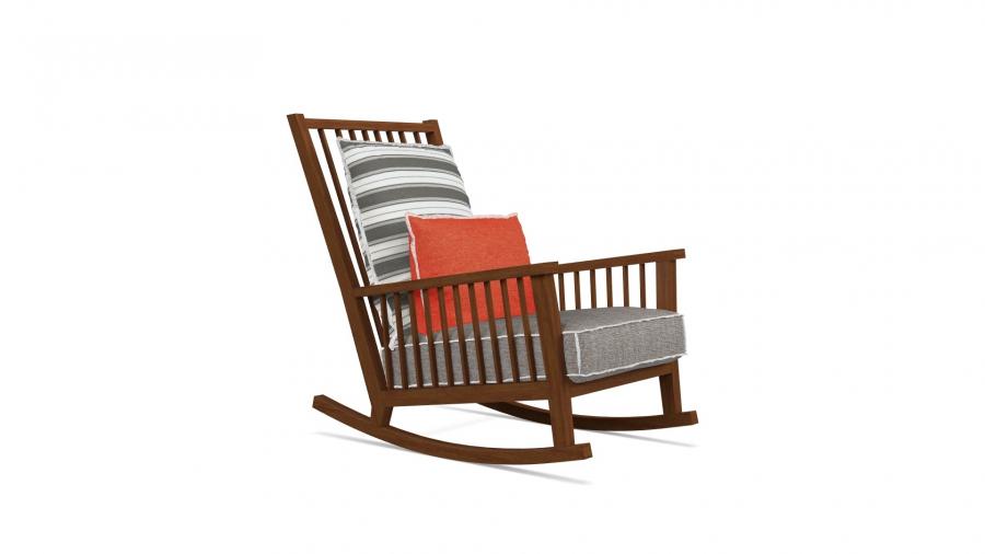 Gervasoni Inout 709 Rocking- chair